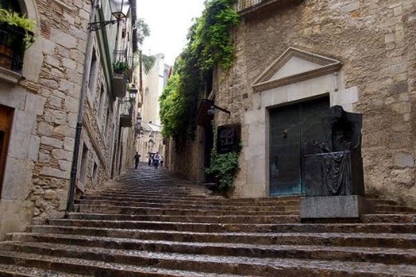 Joodse wijk in Girona