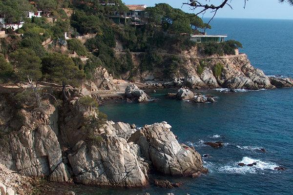 Costa Brava coastal route