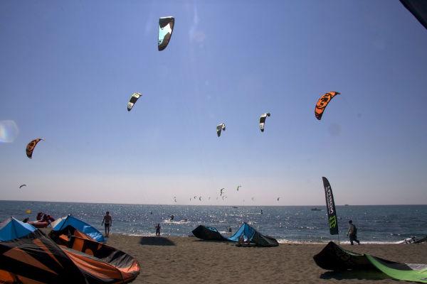 Huur appartementen in l'Estartit: kitesurfen