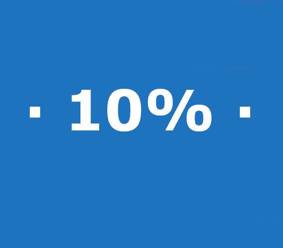 Reserveringen van 7 tot 13 nachten 10% korting