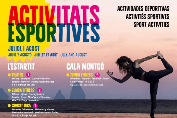 Nieuwe agenda van sportactiviteiten voor juli en augustus – Juli 2019