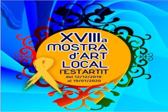 Inhuldiging van de lokale kunsttentoonstelling l'Estartit – December 2019