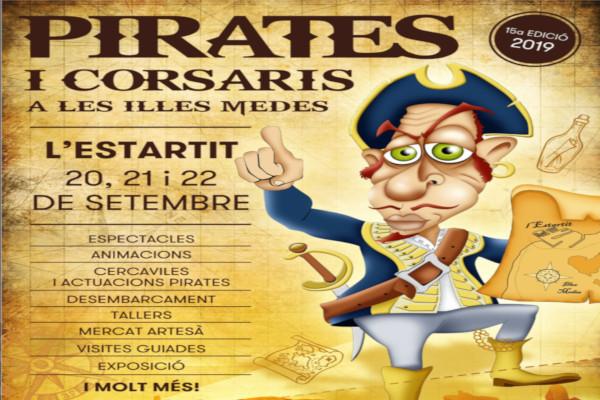 "Nieuwe editie van de ""Fira de Pirates i Corsaris de les Illes Medes"" – September 2019"
